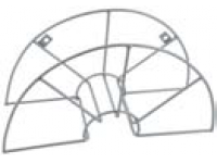 slangeholder stål