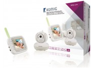 könig babymonitor okelektriske babycall video baby